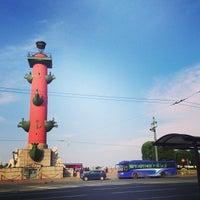 Снимок сделан в Стрелка Васильевского острова пользователем Георгий Б. 6/29/2013