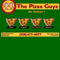 Menü The Pizza Guyz Mashpee Ma