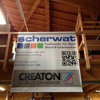 Das Foto wurde bei Scherwat - Fachmarkt für Dach, Wand & Innenausbau von Jan-Philipp S. am 5/13/2013 aufgenommen