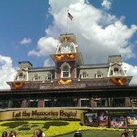 Снимок сделан в Magic Kingdom® Park пользователем Alexandre F. 8/31/2013