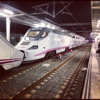 Foto tomada en Estación de Valencia Joaquín Sorolla - AVE por Carles M. el 12/9/2012