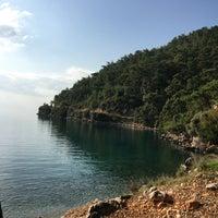 Das Foto wurde bei Çınar Plajı von Deniz T. am 12/3/2017 aufgenommen