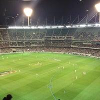 Das Foto wurde bei Melbourne Cricket Ground (MCG) von Keith O. am 5/18/2013 aufgenommen