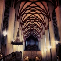 Das Foto wurde bei Thomaskirche von Riccardo G. am 11/25/2012 aufgenommen