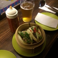 Das Foto wurde bei Fukuro Noodle Bar von Víctor P. am 8/31/2014 aufgenommen