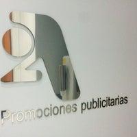 Снимок сделан в 2A Promociones Publicitarias пользователем Joaquín D. 9/23/2014