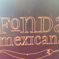 Foto tomada en Fonda Mexicana por Mayte M. el 8/3/2013