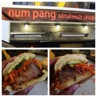 Снимок сделан в Num Pang Sandwich Shop пользователем KMP Blog 7/3/2013