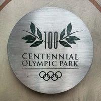 Foto tomada en Centennial Olympic Park por Stacy F. el 12/28/2012