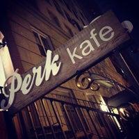 Foto tomada en Perk Kafe por Amy H. el 5/19/2013