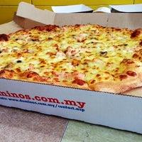 10/17/2014 tarihinde Ming Er T.ziyaretçi tarafından Domino's Pizza'de çekilen fotoğraf