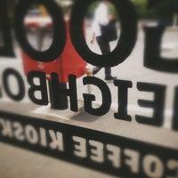 Das Foto wurde bei Be A Good Neighbor Coffee Kiosk von Tadahisa F. am 5/23/2013 aufgenommen