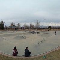 Photo taken at Lone Peak Park/Skate Park by Andrew G. on 3/11/2015