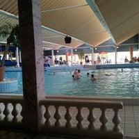 Subtropisch Zwembad Roompot Beach Resort Pool In Kamperland