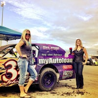 Photo taken at Texas Motor Speedway Dirt Track by Craig F. on 9/16 ...