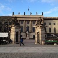 Снимок сделан в Humboldt-Universität zu Berlin пользователем Manuel M. 2/19/2012