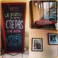 Foto diambil di Le Zizou Crepas oleh Adriana A. pada 4/21/2013