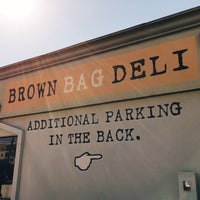 Photo Taken At Brown Bag Deli By Erick T On 2 10 2017