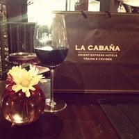 12/15/2012 tarihinde Adriana S.ziyaretçi tarafından La Cabaña'de çekilen fotoğraf