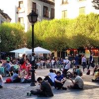 Plaza De San Ildefonso Malasaña Madrid Madrid