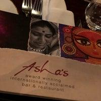 Foto diambil di Asha's Contemporary Indian Cuisine oleh Kaushal S. pada 6/13/2019