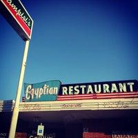 Das Foto wurde bei Campisi's Restaurant - The Egyptian Lounge von Daine B. am 6/7/2014 aufgenommen