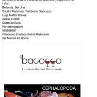 Foto scattata a Il Bacocco da Il B. il 7/1/2014