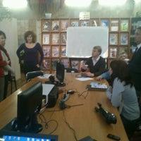 Снимок сделан в Центральная библиотека им. Кропивницкого / Kropyvnytsky Public Library пользователем Nikita H. 3/28/2013