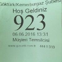 Photo prise au Garanti Bankası par Seda Tınaz le6/6/2016