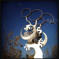 Das Foto wurde bei Big Stone Mini Golf & Sculpture Garden von Chuck O. am 10/14/2012 aufgenommen