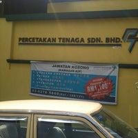 Percetakan Tenaga Sdn Bhd 60 62 Jalan Tago 2 Kuala Lumpur