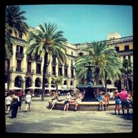 Foto tomada en Plaza Real por Tatiana K. el 7/11/2013