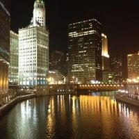 11/28/2012 tarihinde Abdulrahman A.ziyaretçi tarafından Chicago Riverwalk'de çekilen fotoğraf