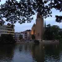 7/17/2013 tarihinde Andrés I.ziyaretçi tarafından Étangs d'Ixelles / Vijvers van Elsene'de çekilen fotoğraf