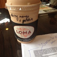 รูปภาพถ่ายที่ LOMA Coffee โดย Laura B. เมื่อ 8/23/2013