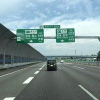 草津JCT - Estrada / Rua em 草...