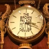 Das Foto wurde bei The Brown Palace Hotel and Spa von peter am 4/17/2013 aufgenommen