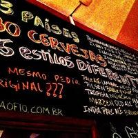 Foto tirada no(a) Cervejaria Ô Fiô, por Daguito R. em 2/27/2013
