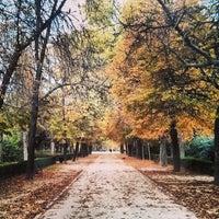 รูปภาพถ่ายที่ Parque del Retiro โดย Alberto D. เมื่อ 11/13/2013