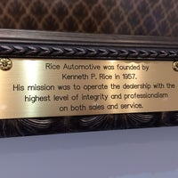 rice buick gmc auto dealership foursquare