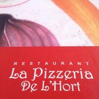 Foto tomada en La Pizzeria de l'Hort por Hector B. el 5/20/2013