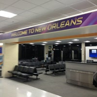 Снимок сделан в Louis Armstrong New Orleans International Airport (MSY) пользователем Chelle G. 1/31/2013
