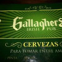 Снимок сделан в Gallaghers Irish Pub пользователем Rodrigo G. 9/5/2013