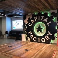Photo taken at Capital Factory by Eric C. on 2/8/2019