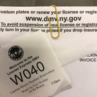 ... Photo taken at NYS Department of Motor Vehicles License Express by Jenn B. on 2 ...