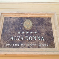 Photo prise au Alva Donna Exclusive Hotel & Spa par Rolan Y. le7/21/2013