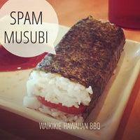Das Foto wurde bei Waikikie Hawaiian BBQ von T V. am 5/14/2013 aufgenommen
