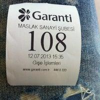 Photo prise au Garanti Bankası par Fake hesap S. le7/12/2013