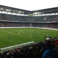 Red Bull Arena Soccer Stadium In Siezenheim