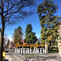 4/15/2013 tarihinde A.L.ziyaretçi tarafından Interlaken'de çekilen fotoğraf